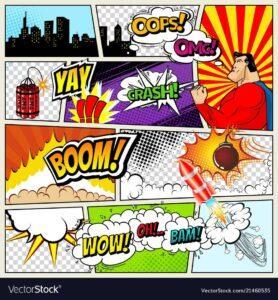 комиксы на английском языке